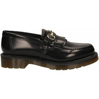 Mokasíny Dr Martens  ADRIAN SNAFFLE BLACK POLISHED SMOOTH